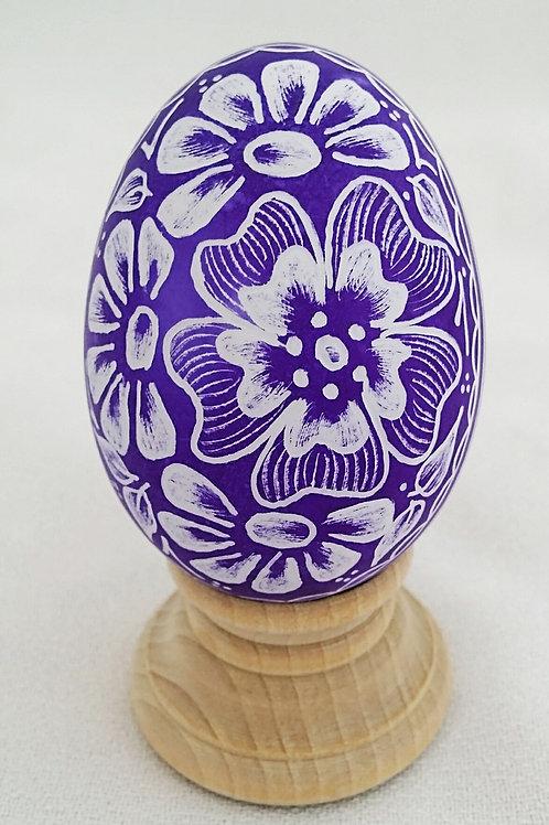 Tropical Flowers Eggs