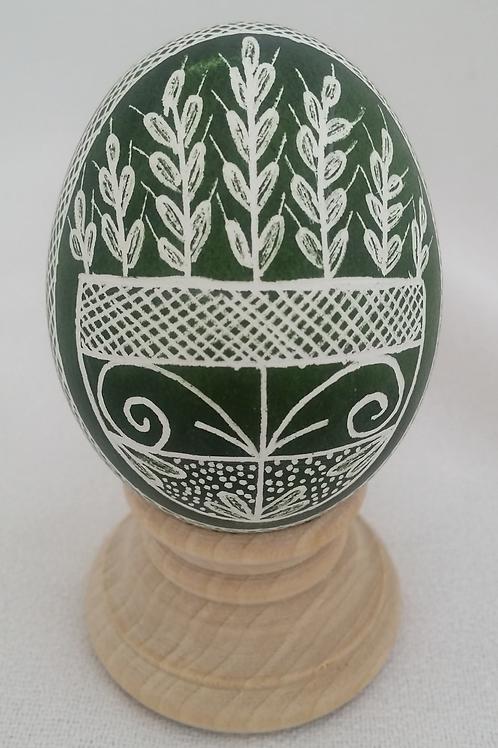 Folk Wheat in Basket