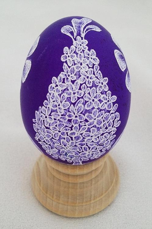 Purple Lilac Chicken Egg