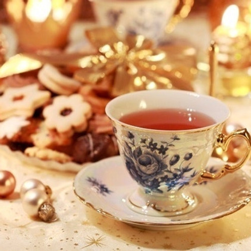 Holiday Shopping Tea