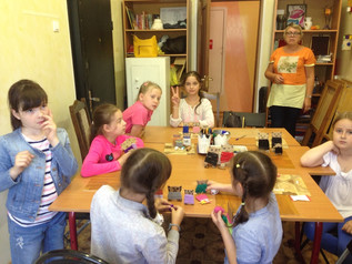 Мастер-класс для ребят посещающих «Московскую смену» в «Роднике»