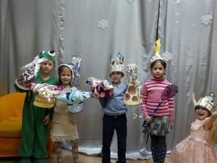 Студия «Архитектура и дизайн» «Парад шляп» 10.01.2017 г.