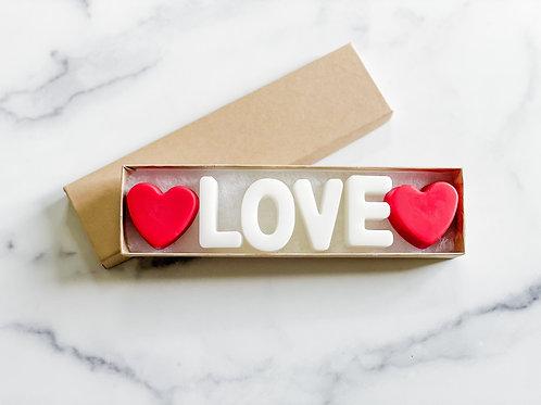 """""""Love"""" Wax Tart Melt"""