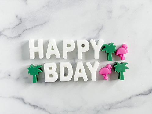 """""""Happy BDay"""" Wax Tart Melts- MORE OPTIONS AVAILABLE"""