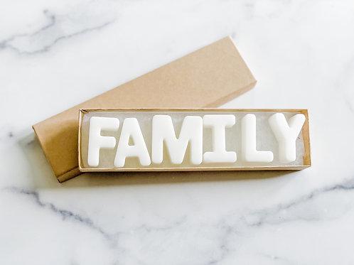 """""""Family"""" Wax Tart Melt"""