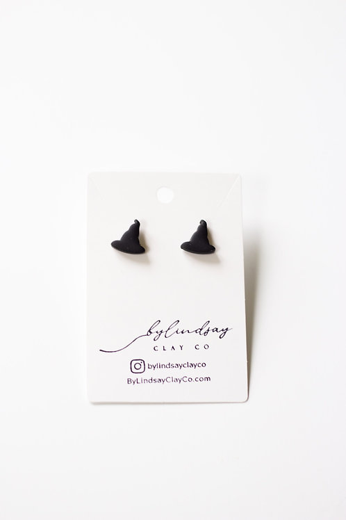Witch Hat Stud- SMALL
