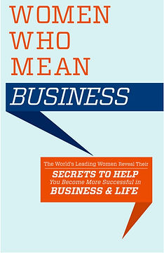 Lindsay Dicks Book Women Who Mean Business