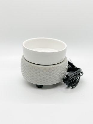 Wax Tart Warmer- Grey & White