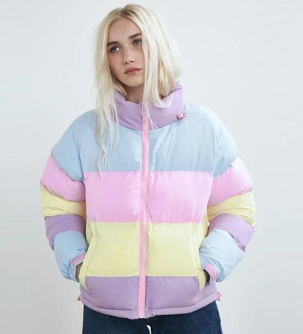 Moda Blusa Candy Colors