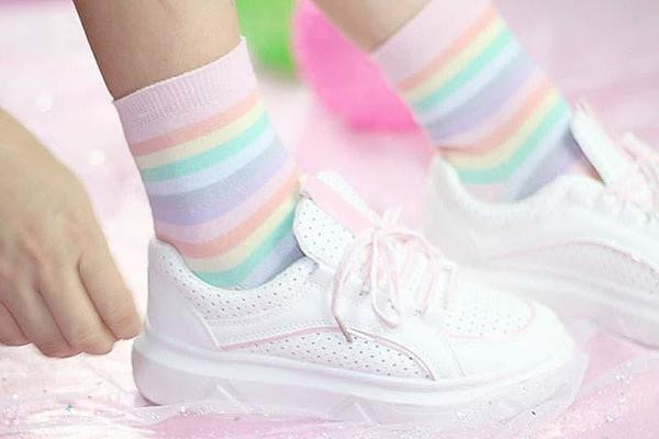 Meias Candy Colors