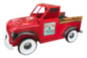 tree towne red truck