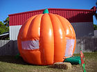 Bounce house at Jupiter Pumpkin Patch