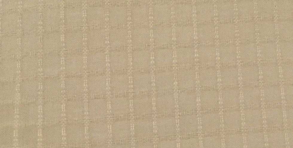 Sheer Fabric - Gold Yellow Squares