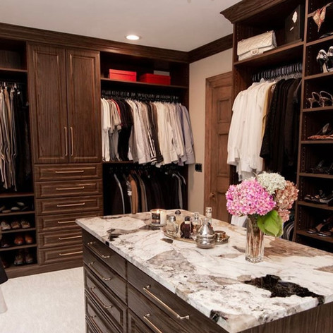 This custom walk-in closet is the perfect combination of classy, elegant and traditional. With the perfect mix between masculine and feminine, we think it's absolutely stunning! The quality of a piece is what ultimately makes it timeless. A custom master closet is just that, it's something that will last for a lifetime. Designed with the client's wishes in mind and built to last, we love how our team brought this client's vision to life!   Thanks to @andarystudio for taking these gorgeous photos!  ✨ You Imagine, We Create ✨   #grossepointewoods #grossepointepark #grossepointeshores #grossepointefarms #grossepointe #stclairshores #birmingham #bloomfieldhills #gptogether #gpstrong #supportlocal #mack #gpw #classy #closetconnections #metrodetroitcustomhome #customcloset #walkincloset #homerenovationproject #homerenovation #gpmichigan #gpmich #grossepointenorth