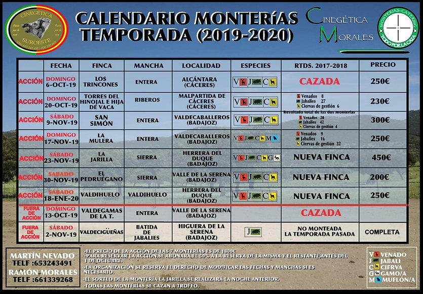 Calendario_2019_2020_Cinegetica_Suroeste