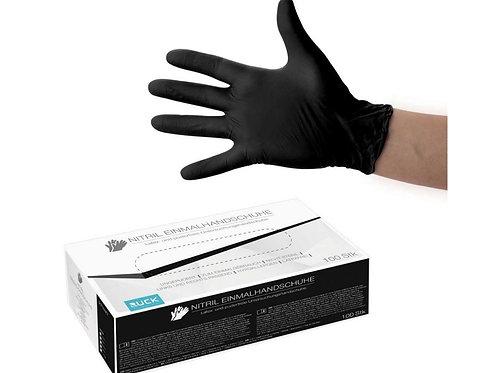 Kertakäyttöiset RUCK®-nitriilikäsineet Black