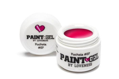 Paint Gel by #LVS | Fuchsia 07 5gr