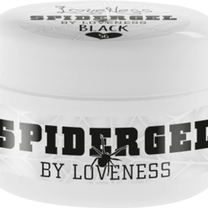 Spider Gel by #LVS | Spider Gel Black 5g