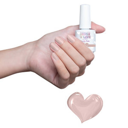 Brush 'n Love by #LVS   Barely Pink 15ml