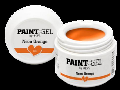 Paint Gel by #LVS Neon Orange 08 5gr