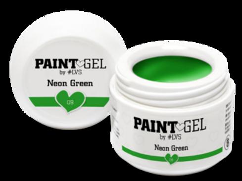 Paint Gel by #LVS Neon Green 09 5gr