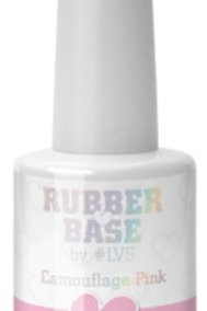 Rubber Base By #LVS   Camouflage Pink 15ml