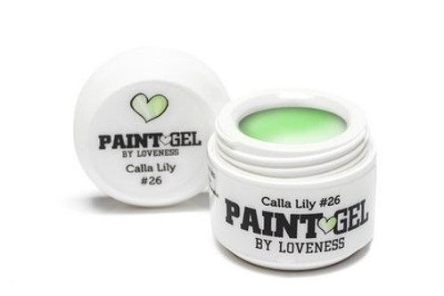 Paint Gel by #LVS   Paint Gel Calla Lily 26 5gr