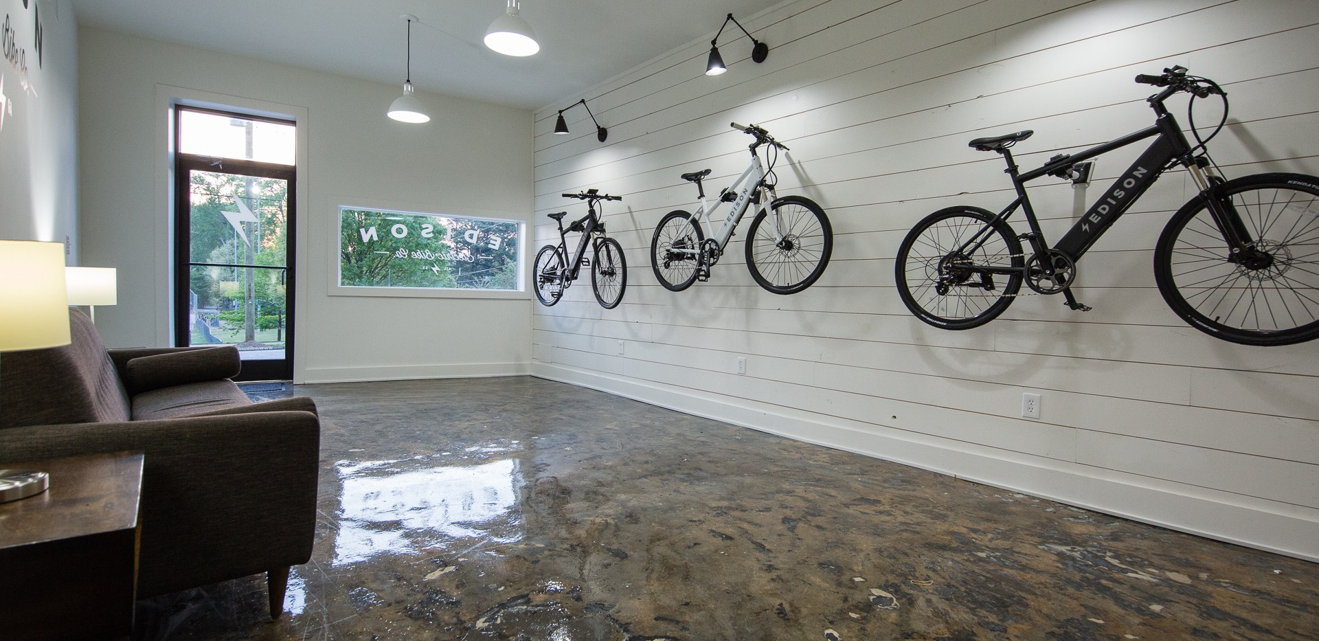 Edison Shop | Bike Wall