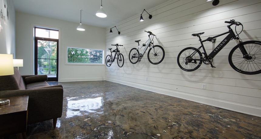 Edison Shop | Bike Wall