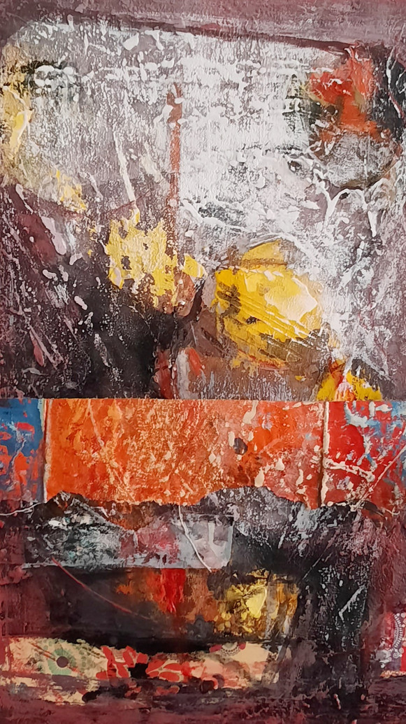 Passage Of Time_mixed media on Canvas_20
