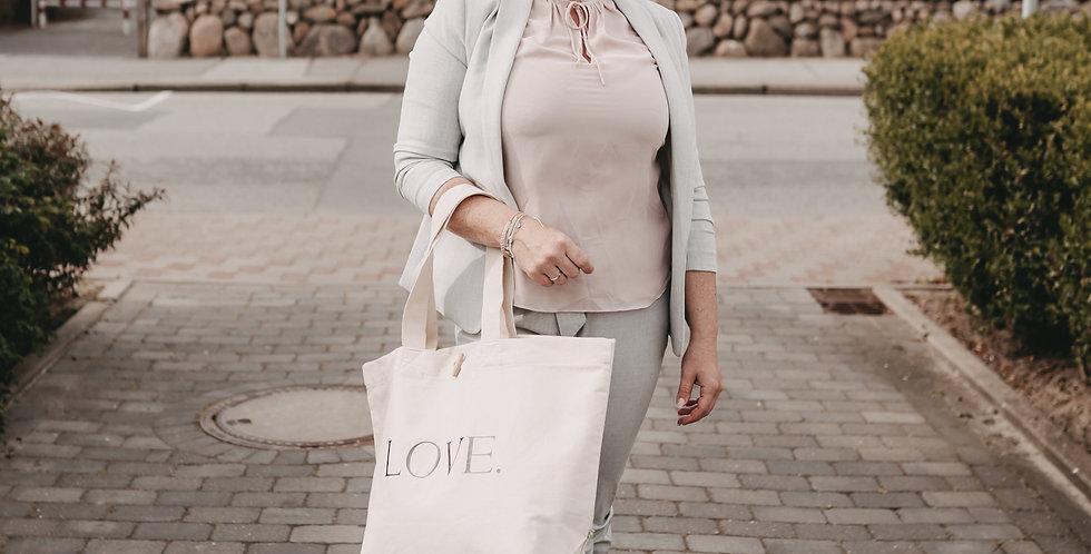 Strandtasche Love XL