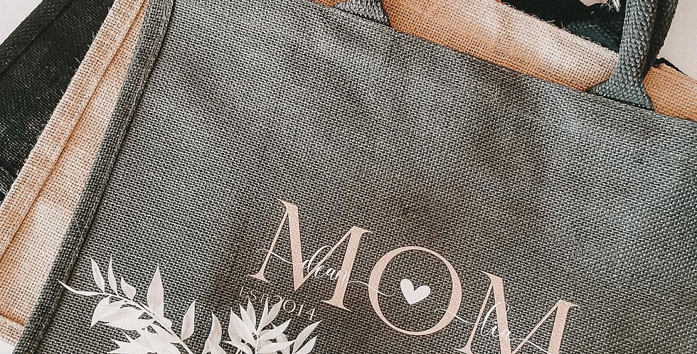 Jute- Tasche(gross) MOM