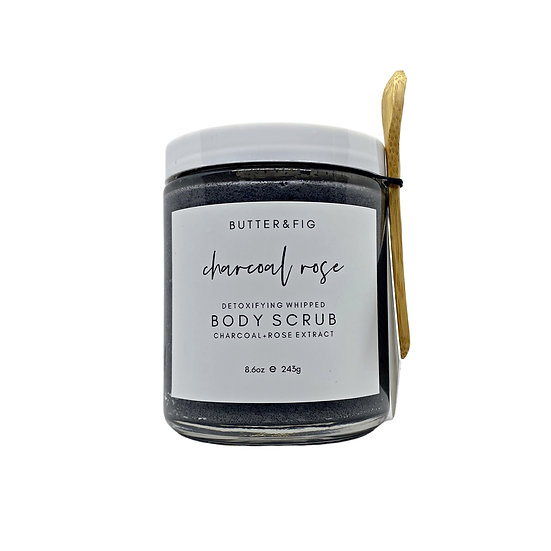 CHARCOAL ROSE - DETOXIFYING BODY SCRUB