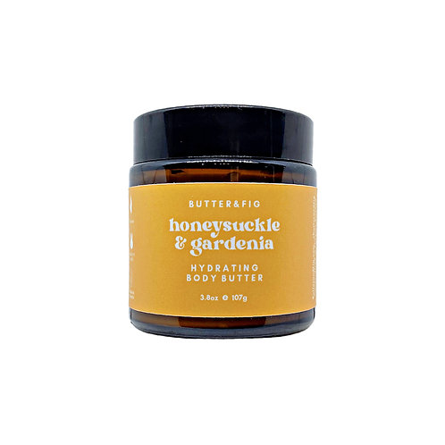 honeysuckle & gardenia - hydrating body butter