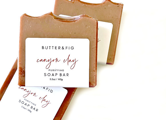 CANYON CLAY - PURIFYING FACE SOAP