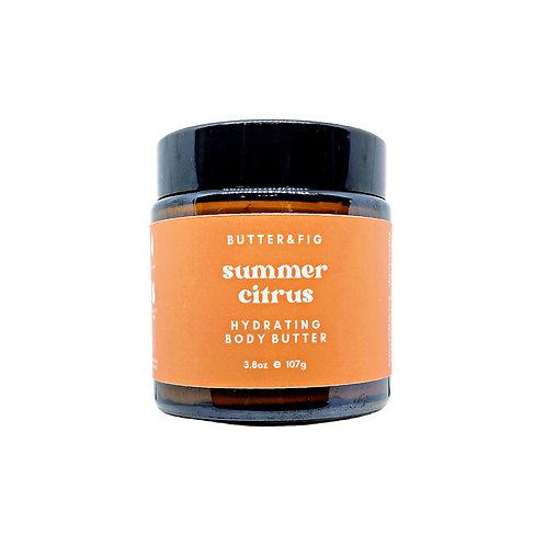 summer citrus - hydrating body butter