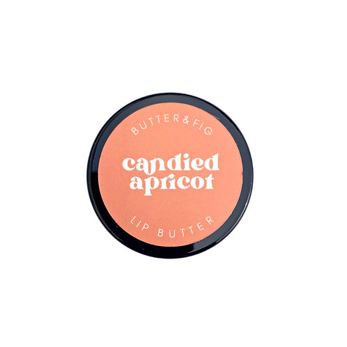 candied apricot - lip butter