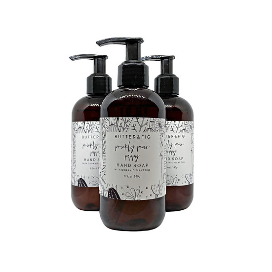 PRICKLY PEAR POPPY - GENTLE HAND SOAP