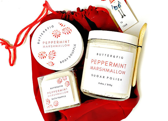 PEPPERMINT MARSHMALLOW - HOLIDAY SET