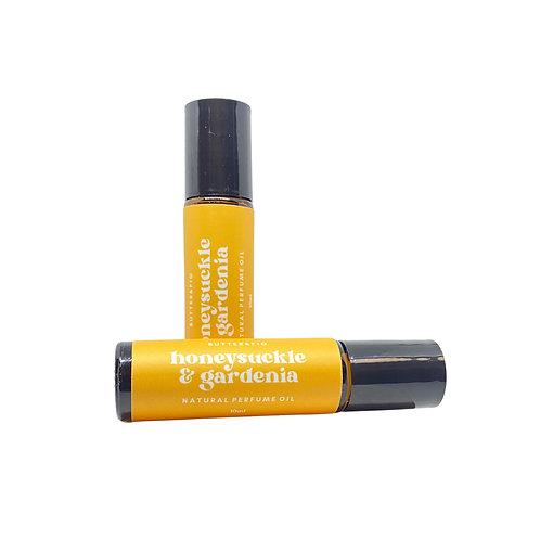 HONEYSUCKLE GARDENIA - NATURAL PERFUME OIL