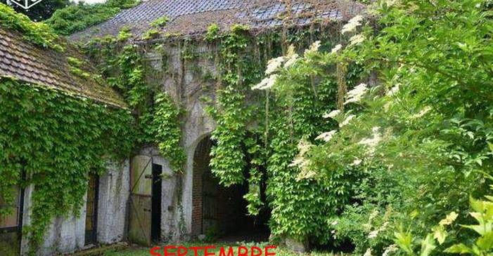 Grange avant rénovation
