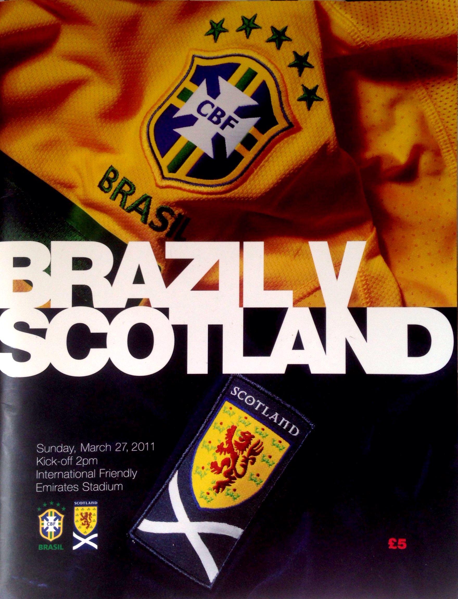 Brazil v Scotland @ Emirates Stadium