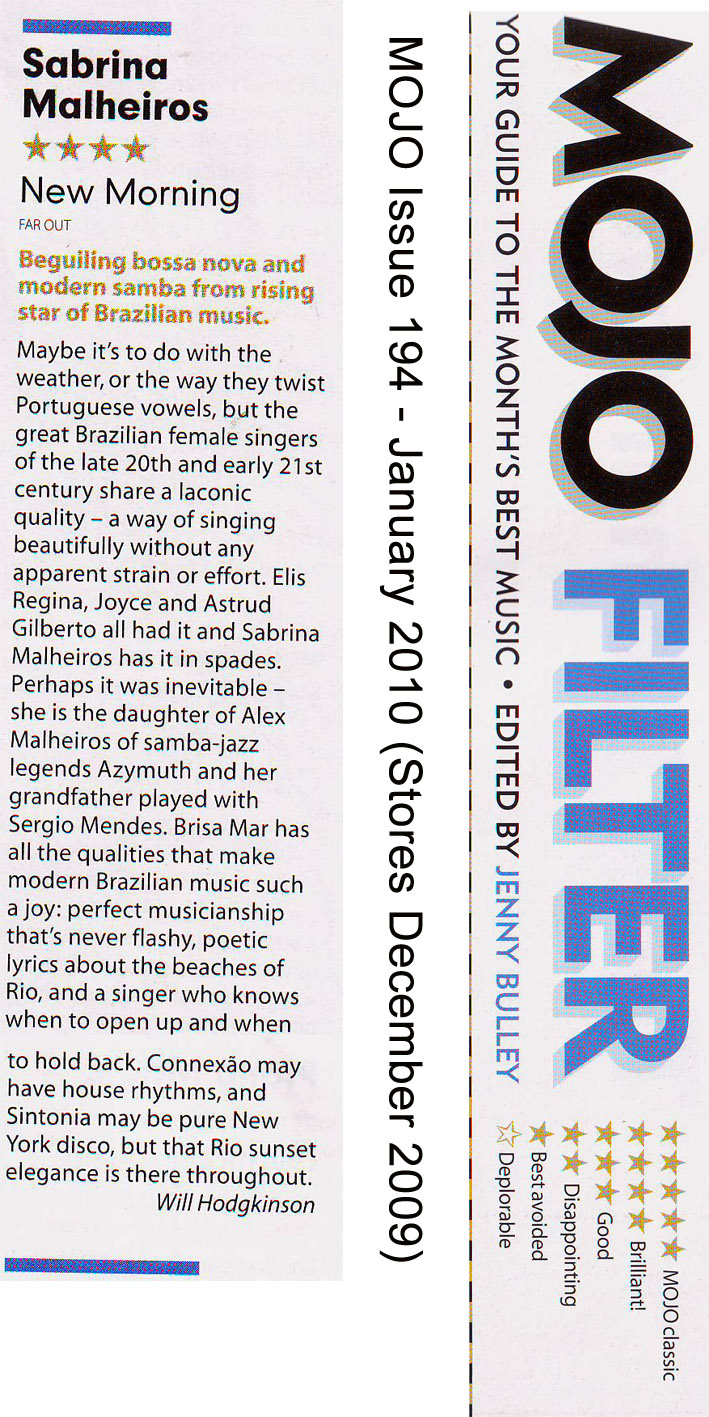 Mojo Magazine Review (UK)