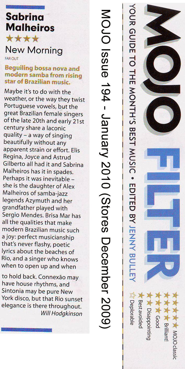 Mojo Magazine Review (UK)