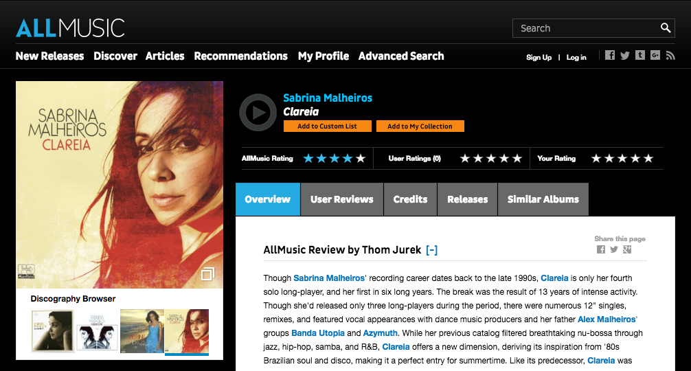 AllMusic Review