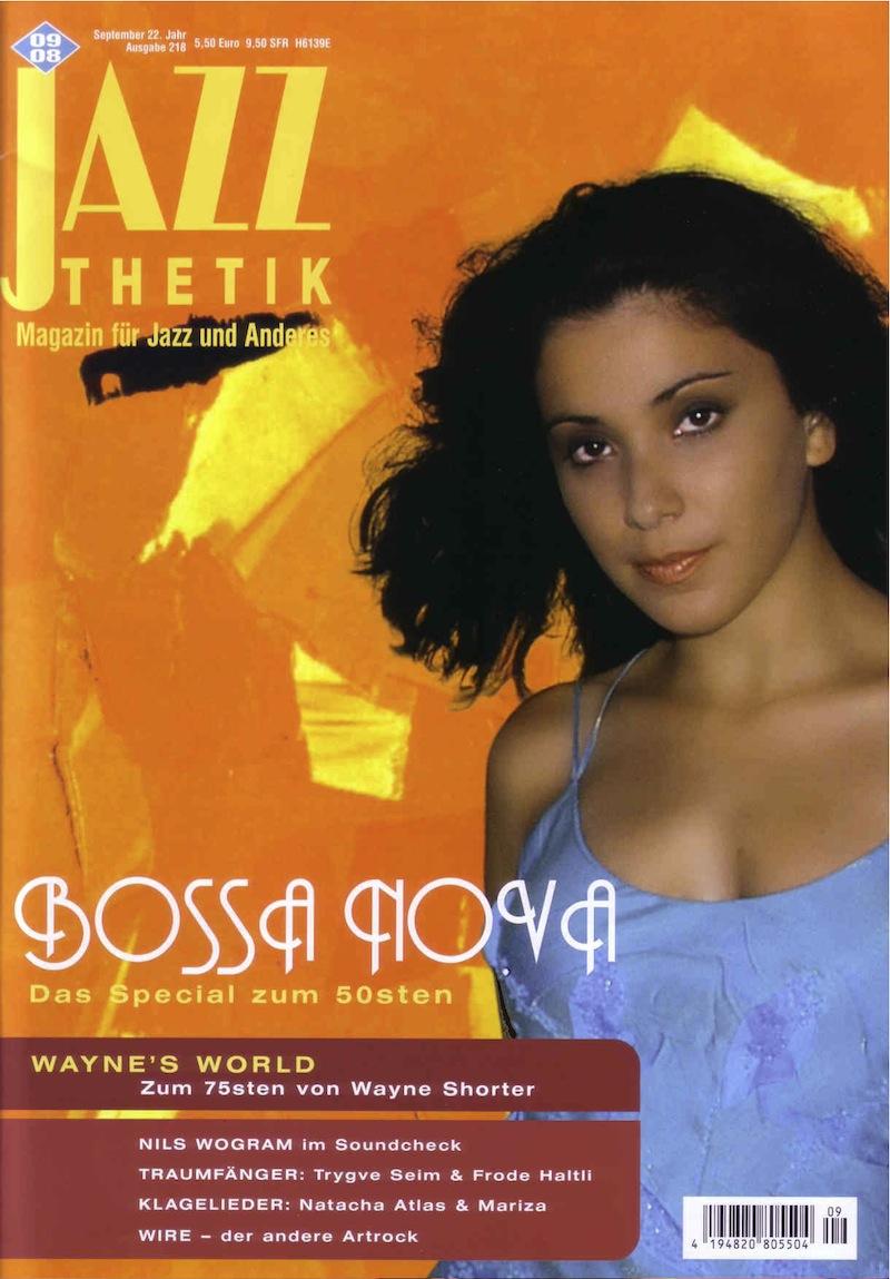 Jazzthetic Magazine Cover (Germany)