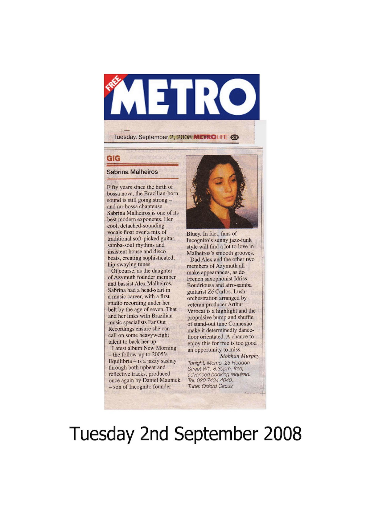 Metro Live Preview (UK)