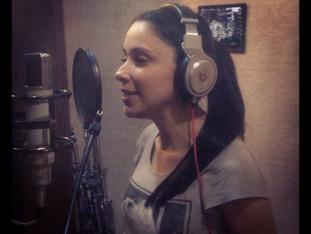 In the Studio Recording New Album..