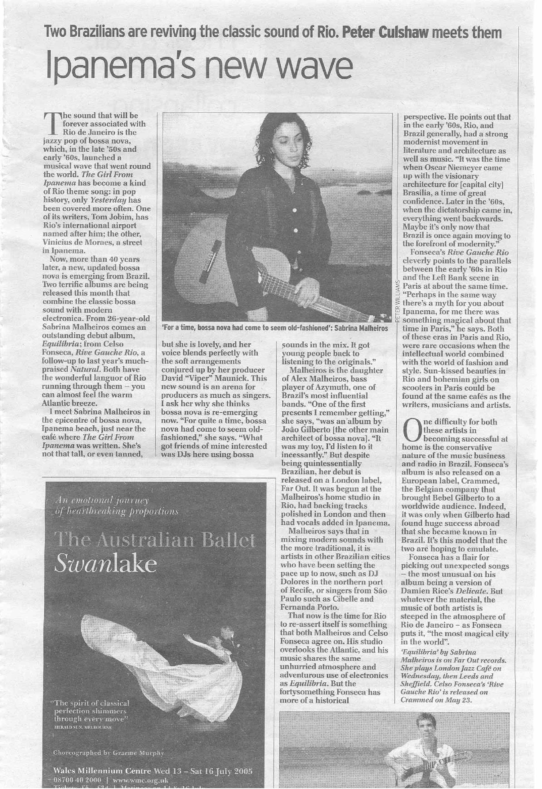 The Daily Telegraph Interview (UK )