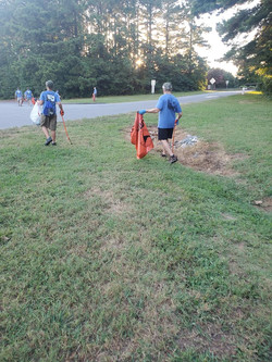 Troop 83 Beatty's Ford Park Cleanup